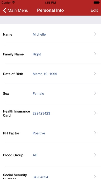 Family Medical History - HD screenshot-2