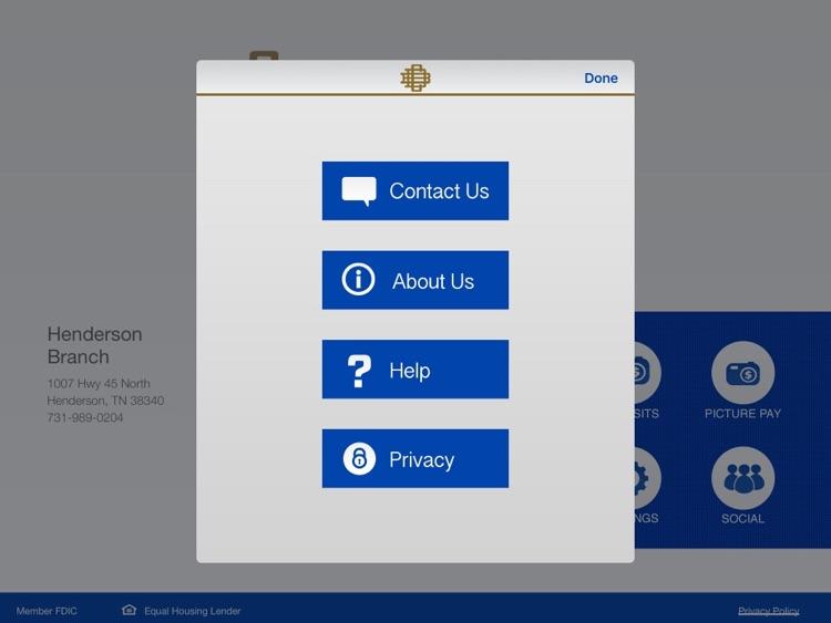 Decatur County Bank for iPad screenshot-3