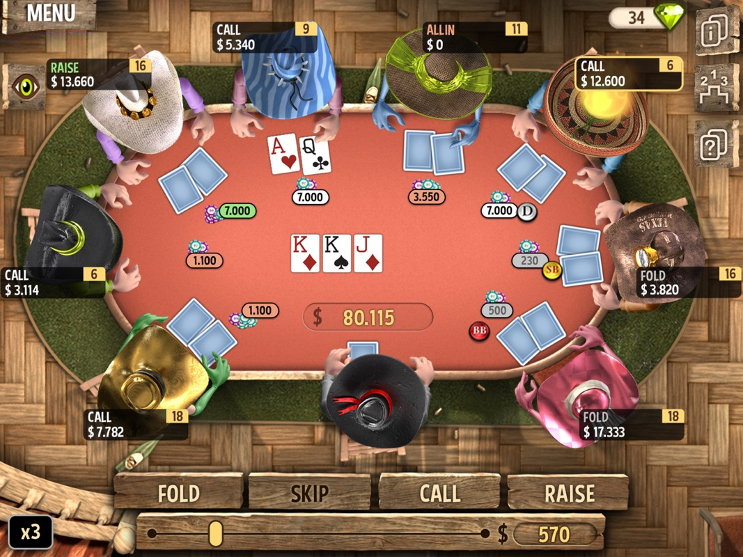 Governor of Poker 2 - Offline - Online Game Hack and Cheat