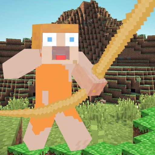 MineRope - Craft Your Block Rope 3D