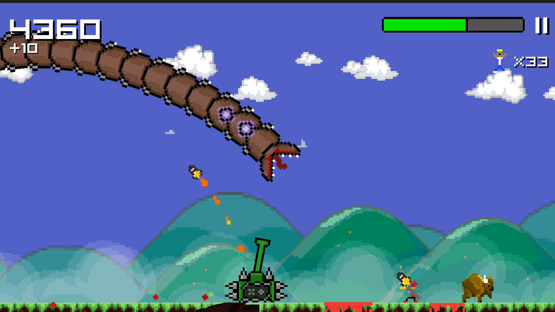 Super Mega Worm screenshot 14