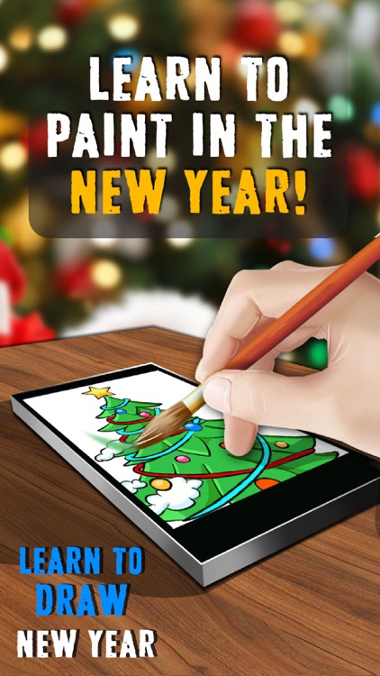 Learn to Draw New Year