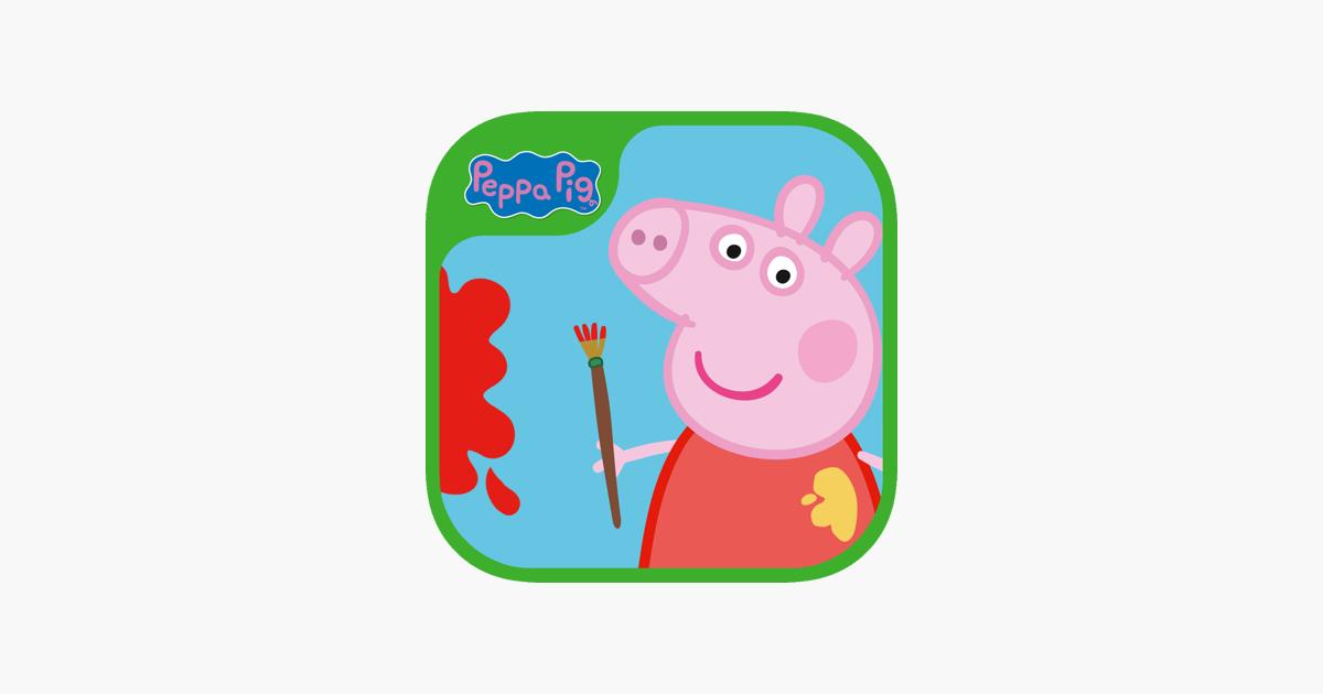 Peppa Pig Paintbox Na App Store