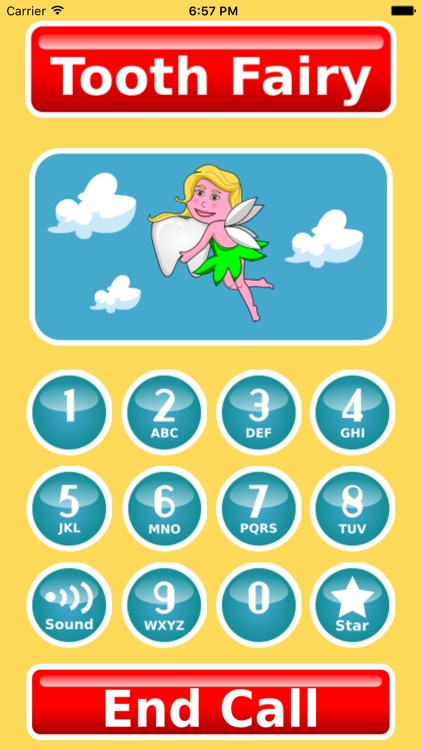 Call Tooth Fairy Voicemail & Text