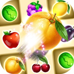 Garden Fruit Mania: Match3 Fruit - Garden Fruit - Pop Clash FREE