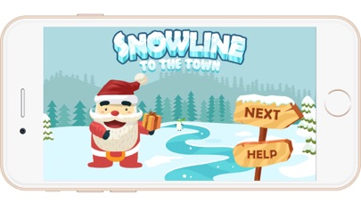 Snow Line Trivia Puzzle: Christmas Games for Kids screenshot one