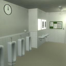 脱出ゲーム 男子トイレからの脱出