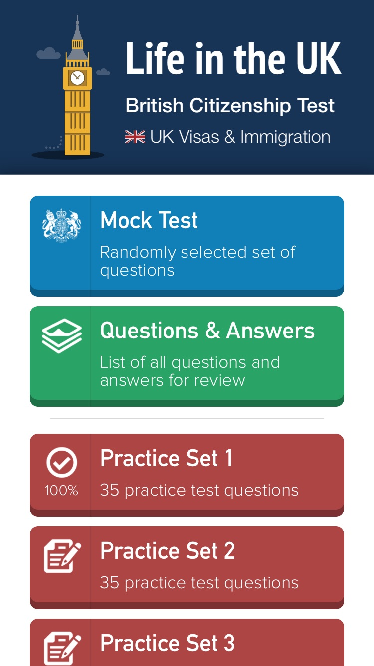 Life in the UK Test Questions Pro - British Citizenship Test Study and Practice Guide Screenshot