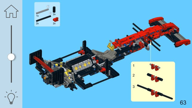 app store ferrari racer for lego technic 8070 set. Black Bedroom Furniture Sets. Home Design Ideas
