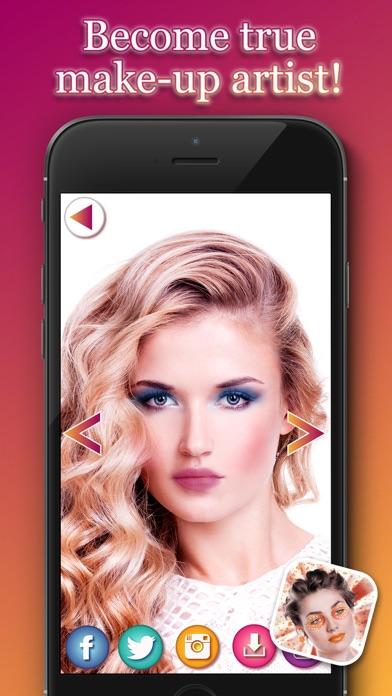 点击获取Makeup For Girls – Visit Virtual Makeover Salon And Try Out Different Beauty Products