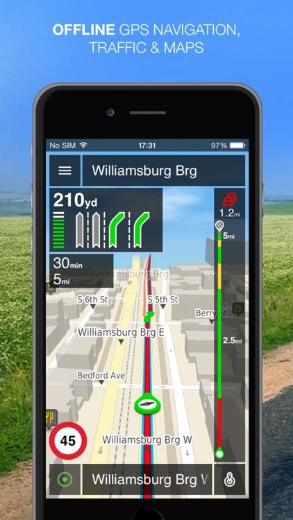 NLife Explorer - Offline GPS Navigation, Traffic & Maps screenshot-0