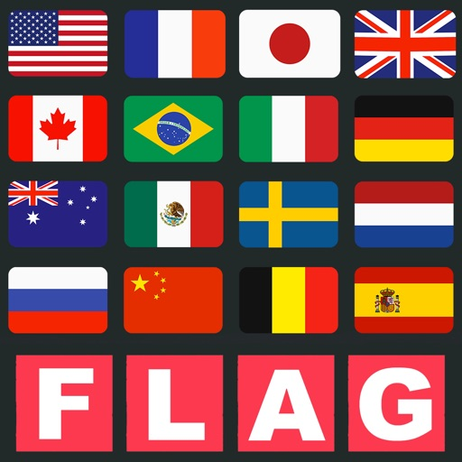 Flags Quiz - Guess what is the country!