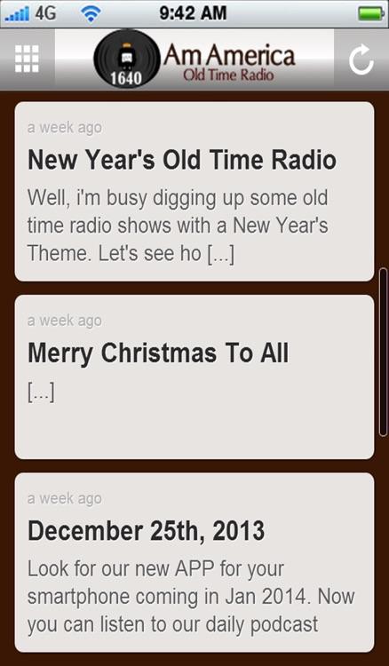 Am America Old Time Radio screenshot-3