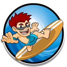 Activities of Surfer Game - Catch the Wave