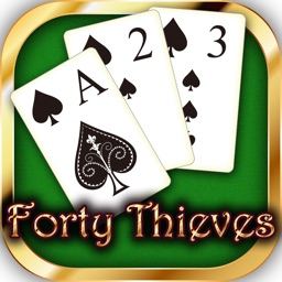 Forty Thieves Solitaire◆popular card game