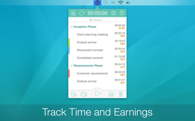 Screenshot Chrono Plus - Time Tracker