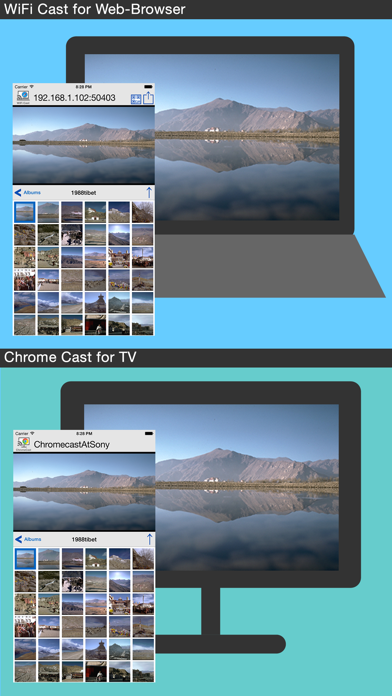 Photo Cast with WiFi for PC & ChromeCast | App Price Drops