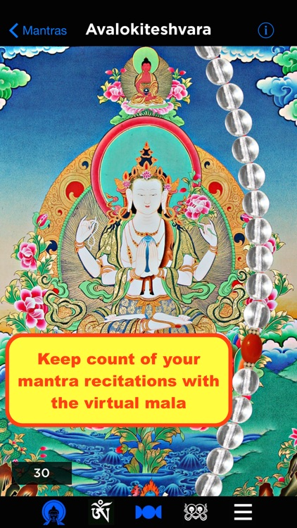 Buddhist Mantra Mala screenshot-0