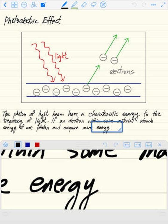 Notes Lite - Take Notes, Audio Recording, Annotate PDF, Handwriting & Word Processor screenshot-3