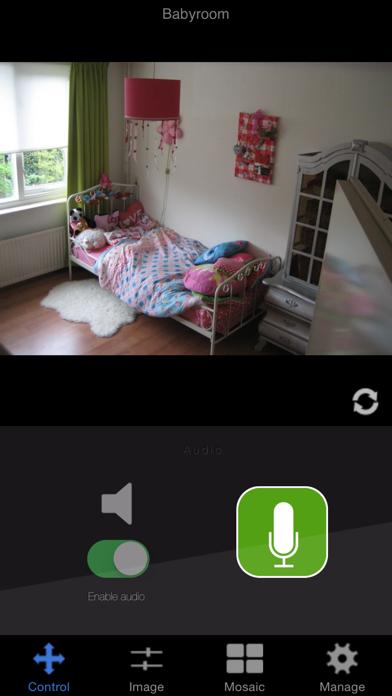 IP Camera Viewer ELRO iPhone app afbeelding 5