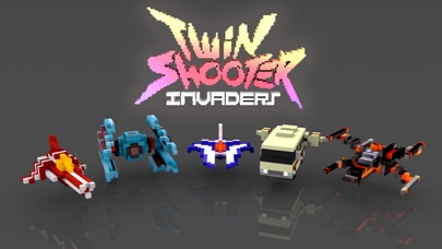 Screenshot from Twin Shooter - Invaders