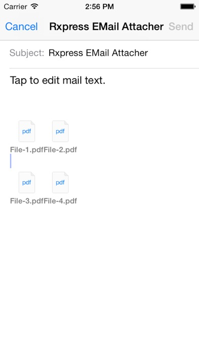 download RXpress EMail Attacher apps 1
