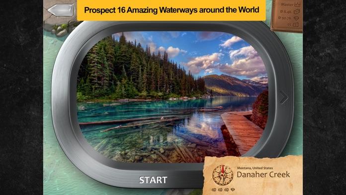 Prospectors - Nature's Slot Machine of Diamonds & Gold Treasure Free for iPad and iPhone Screenshot
