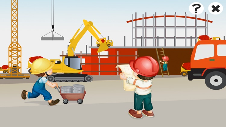 A Construction Site Learning Game for Children: Learn about the builder screenshot-4