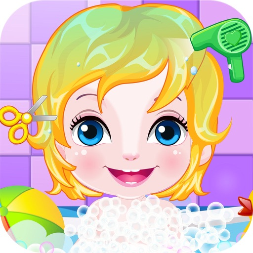 happy baby hairdresser game hd the hottest baby spa and hair salon