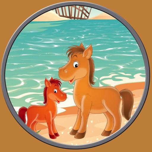 lovely horses for kids - free game