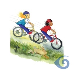 米莉茉莉系列丛书《谁都没迟到》-  Milly, Molly and the Bike Ride (Simplified Chinese)