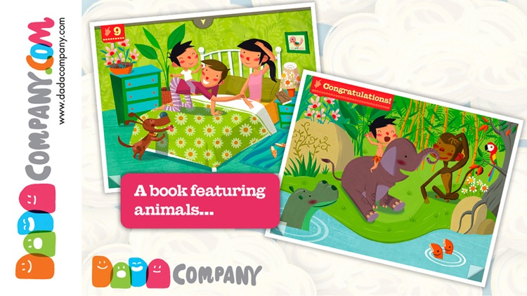 1000 Adventures - An interactive storybook, with animals, robots, dinosaurs, pirates, princesses …