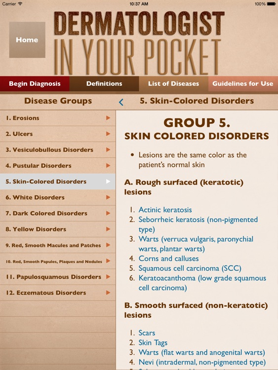 Dermatologist In Your Pocket for iPad screenshot-3