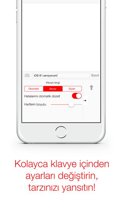 Türkçe Klavye screenshot four