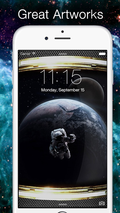 Space & Galaxy Wallpapers screenshot-2