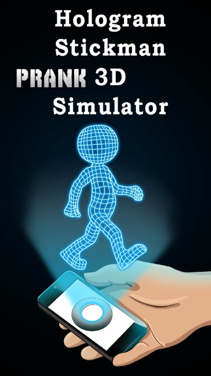 Hologram Stickman 3D Simulator