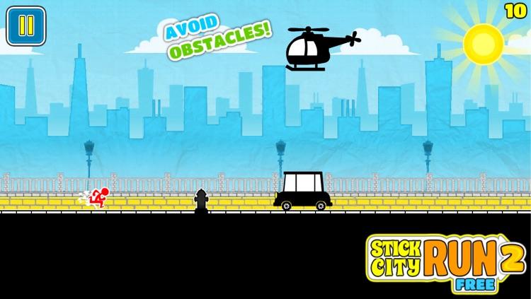 Stick City Run 2 Free By Lettu Games screenshot-3