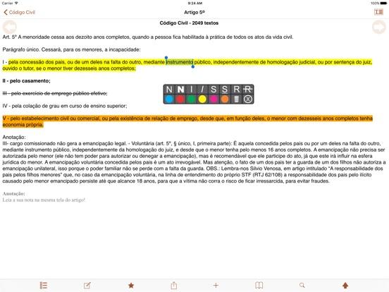 Vade Mecum Pro Direito Brasil Скриншоты9