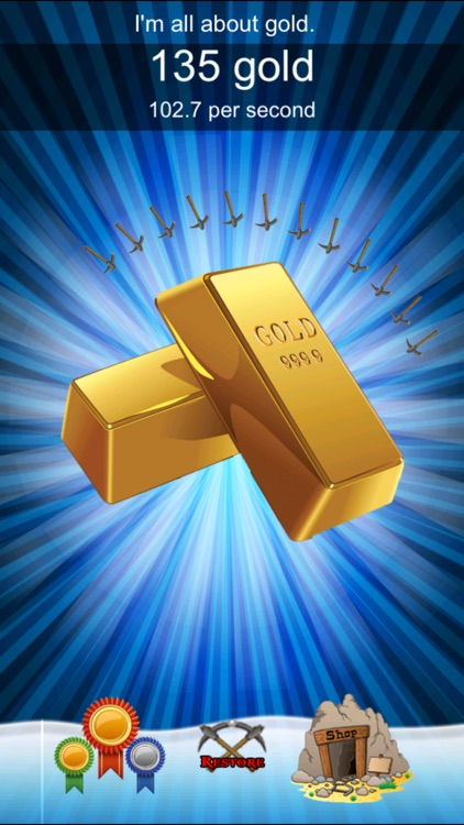 Gold Rush Clicker - Nuggets and Bars Miner Fever