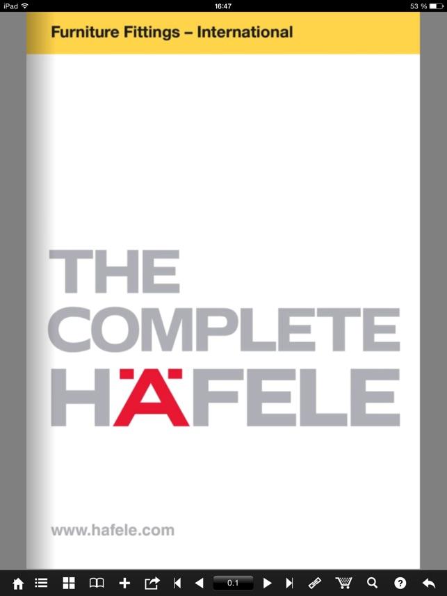 Häfele on the App Store