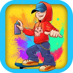 Girls and Bombs - Fast Skateboarder Obstacle Course (Free)