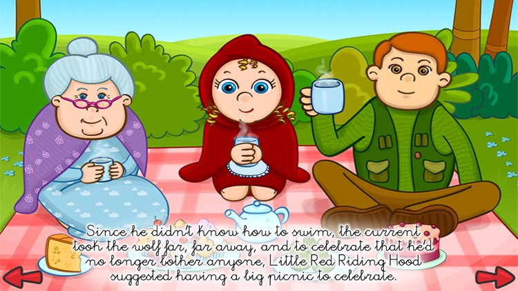 The little red riding hood - PlayTales screenshot-3