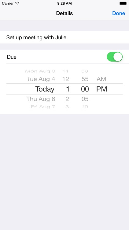 Reminders Nano screenshot-3