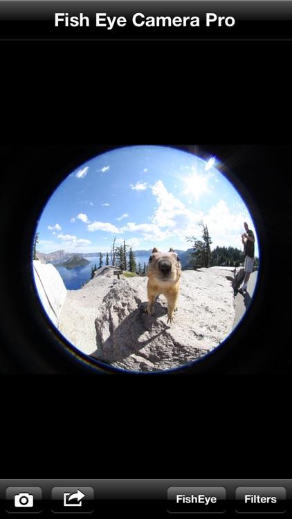 Fish Eye Camera Pro & 50+ Photo Effect Filters
