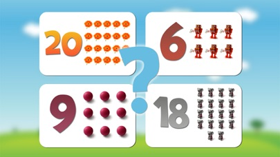 Numbers game 1 to 20 flashcards screenshot four