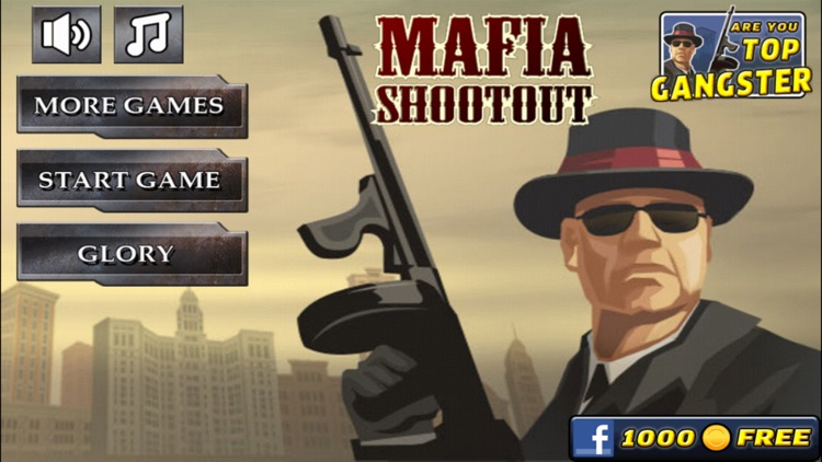 1940's Mafia Shootout screenshot-0
