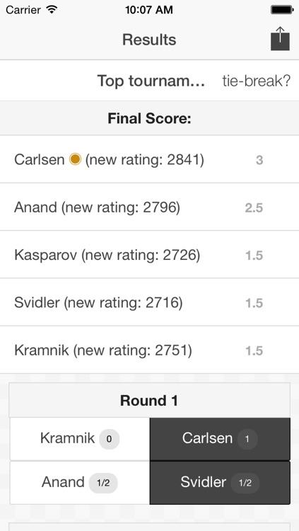 Chess Tournament™ screenshot-3