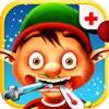 Elf Flu Doctor - Help yourself and the frozen Christmas Elves