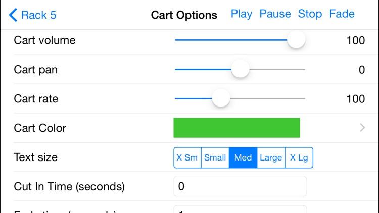 Sound Byte Cart Machine App