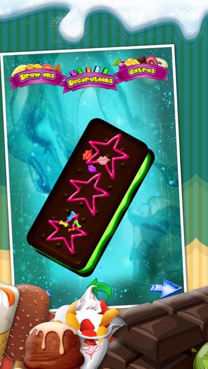 A Amazing Ice Cream Maker Game - Create Cones, Sundaes & Sweet Icy Sandwiches Shop screenshot-3